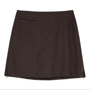 Patagonia Duway Camp Skirt Skort in Black